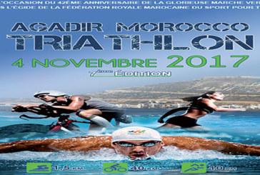 Coupe d'Afrique de Triathlon : Des triathlètes de 23 pays attendus à la 7è édition du Triathlon international d'Agadir