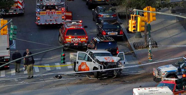 Au moins huit morts dans une attaque au camion bélier à New York