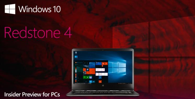 Microsoft travaille déjà sur son RedStone 4