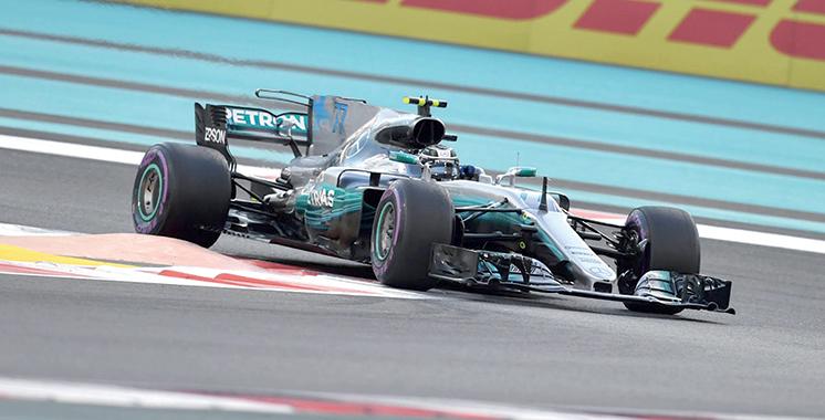 Formule 1 : Bottas et Mercedes terminent 2017 au sommet