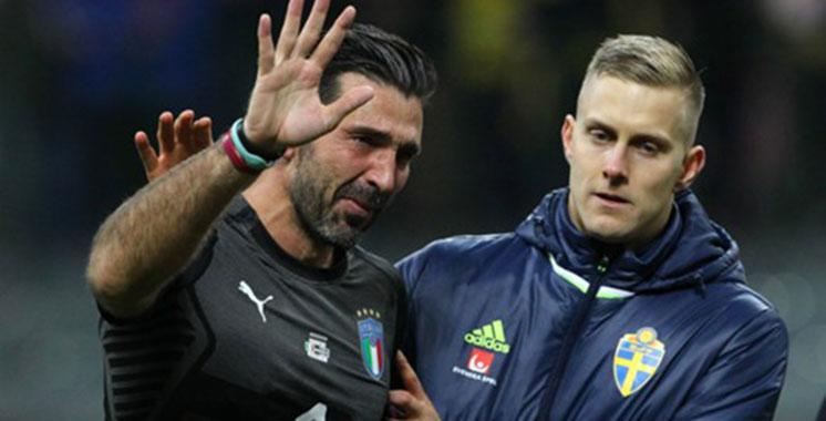 Eliminatoires du Mondial2018: Gianluigi Buffon annonce sa retraite internationale