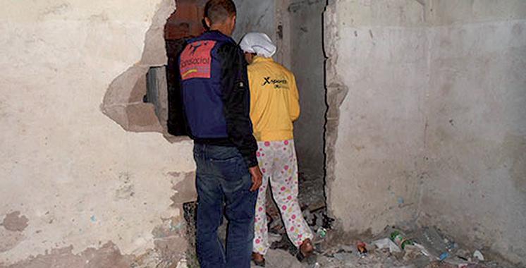 Inzegane : Un SDF tue sa copine  et brûle son cadavre