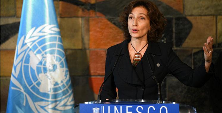 UNESCO : Mme Audrey Azoulay rend hommage au Maroc