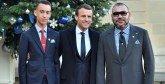 Sommet mondial sur le climat : Le Souverain prend part au déjeuner offert par le président français