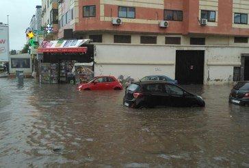 Vidéo : Le boulevard Al Qods inondé à Casablanca