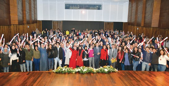 509 étudiants ont reçu des bourses Istihqaq en 2017