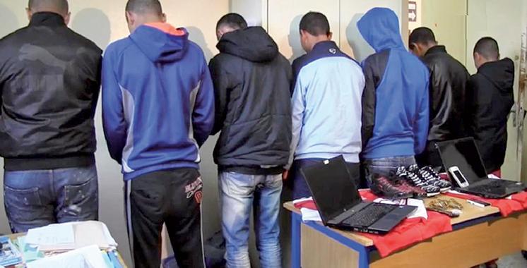 Criminalité : Plus de 1.300 bandes démantelées au Maroc en 3 ans