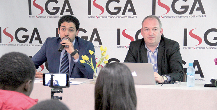 Économie numérique : La digitalisation des entreprises au centre d'une conférence à l'ISGA