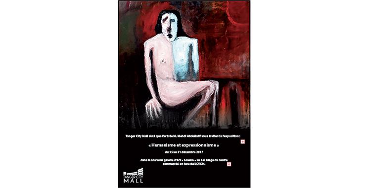 Abdellatif Mehdi expose ses œuvres au Tanger City Mall