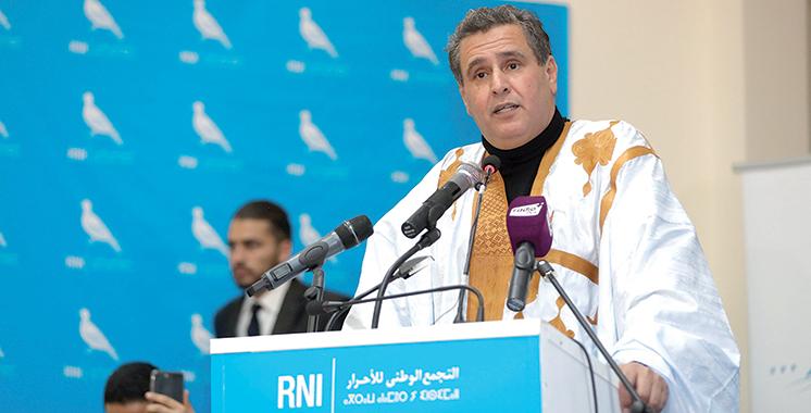 Le congrès  régional du RNI s'est tenu à Dakhla :  Akhannouch  appelle à un décollage social de la région