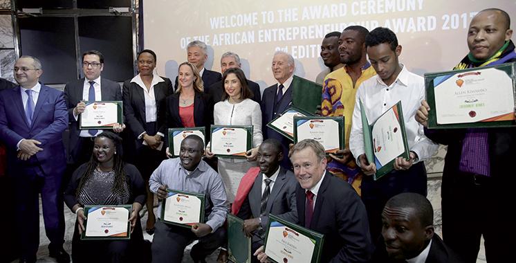 Initié par BMCE Bank of Africa: L'African Entrepreneurship Award récompense 12 lauréats de 9 pays africains