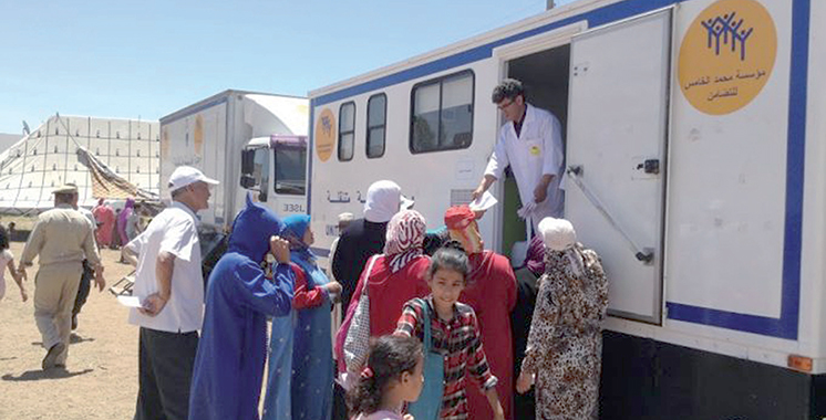 Caravanes médicales : La Fondation Mohammed V dresse son bilan