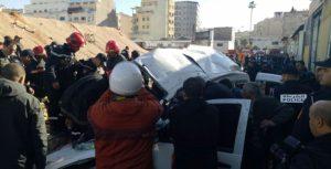 Casablanca: 2 morts et 3 blessés dans l'effondrement du mur à Belvédère