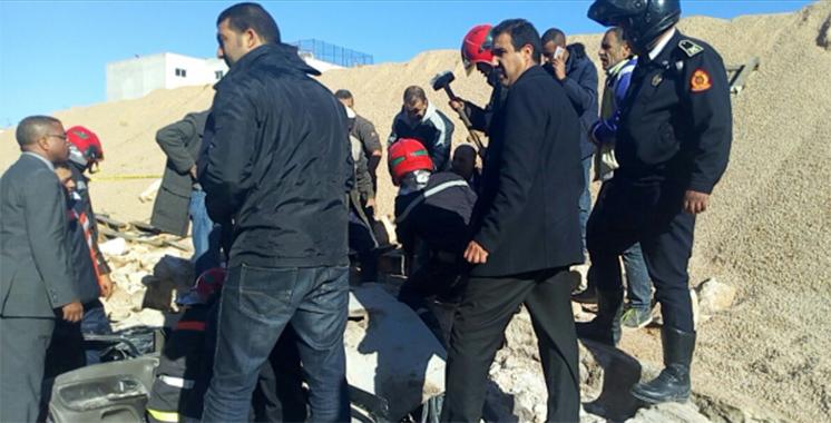 Casablanca : plusieurs blessés suite à l'effondrement d'un mur à Belvédère