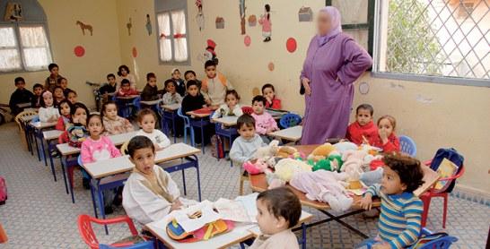 870.000 enfants ne sont pas préscolarisés au Maroc