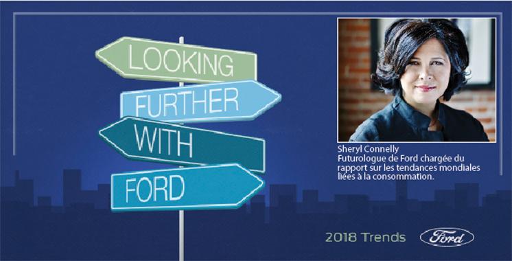 Les tendances 2018 selon Ford : Elles concernent les consommateurs