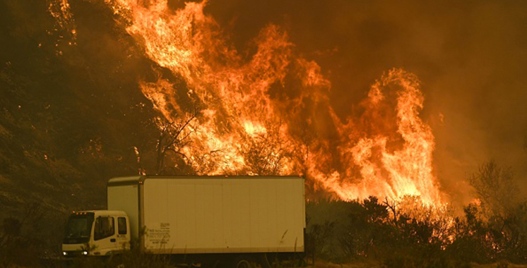 Californie: les feux de forêt font rage, état d'urgence dans le sud de l'Etat (vidéo)