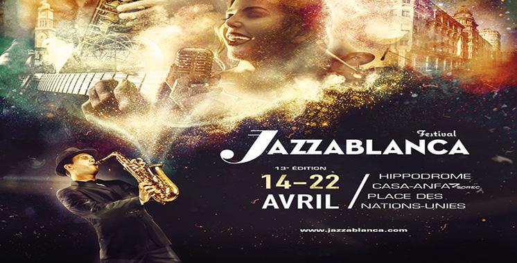 Des artistes venus de tous les continents animeront le festival : Et de 13 pour Jazzablanca !