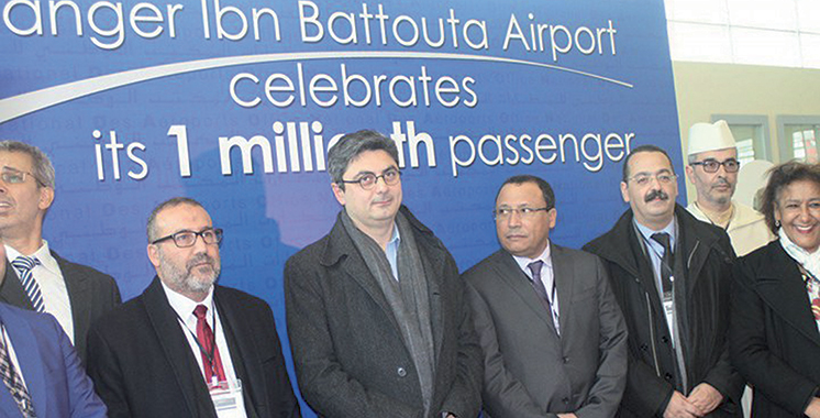 L'aéroport Tanger Ibn Battouta fête  son millionième passager