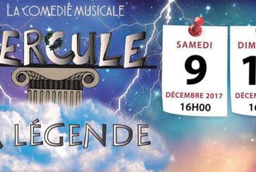 «La légende d'Hercule», une comédie musicale et familiale