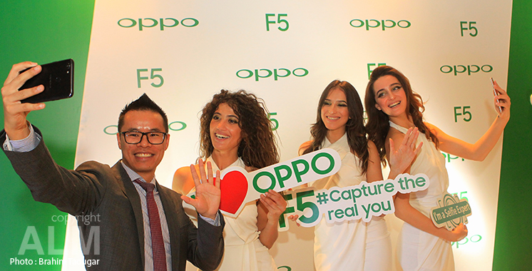 Smartphones : Oppo lance le F5