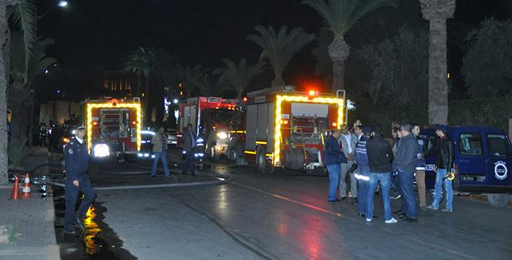 Marrakech: Incendie dans le restaurant d'une unité hôtelière