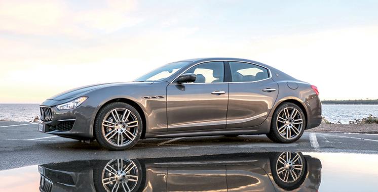 La Maserati Ghibli 2018 fait son entrée au Maroc