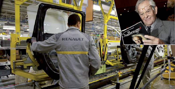 Renault acquiert 40% du capital du groupe  de presse Challenges