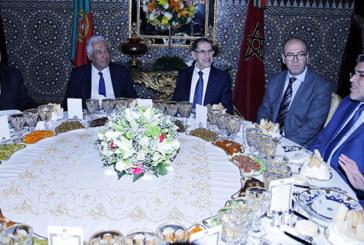 Le Roi Mohammed VI offre un dîner en l'honneur du Premier ministre portugais