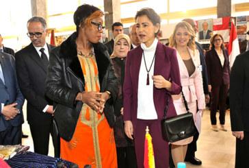 SAR la Princesse Lalla Meryem préside à Rabat  la cérémonie d'inauguration du Bazar de Bienfaisance du Cercle diplomatique