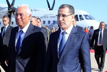 Rabat : Arrivée du Premier ministre portugais pour une visite de travail au Maroc