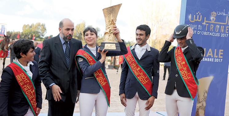 Saut d'obstacles : L'Étrier de Casablanca B remporte la Coupe du Trône