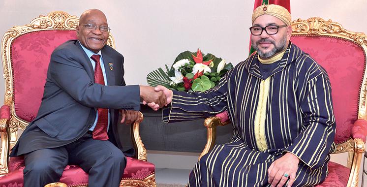 Jacob Zuma : «Le Maroc a été un précieux soutien à la lutte contre l'apartheid»