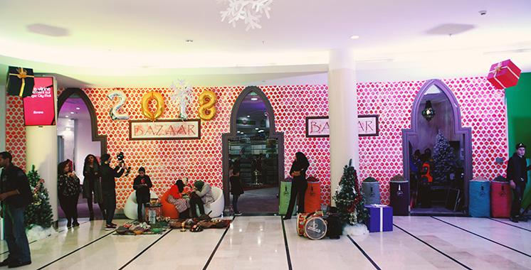 Tanger City Mall fête Noël