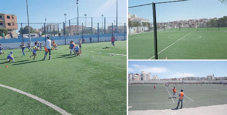 Tanger : Renforcement des infrastructures sportives
