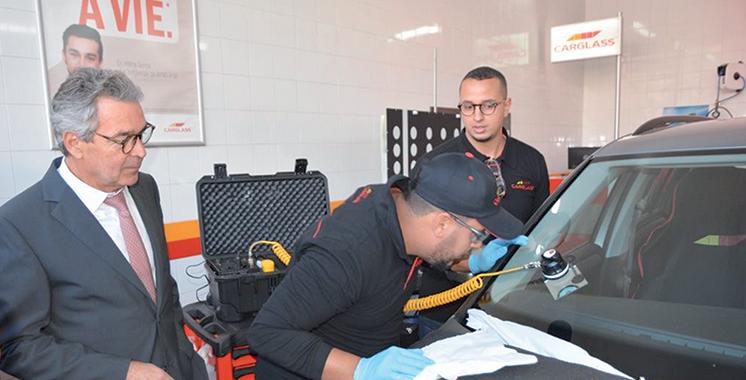 Vitrage des véhicules : Total Maroc devient master franchisé Carglass