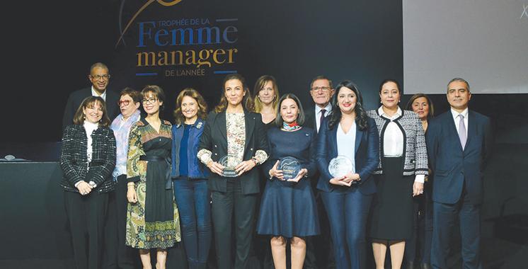 Trophée de la femme manager de l'année : Les lauréates primées