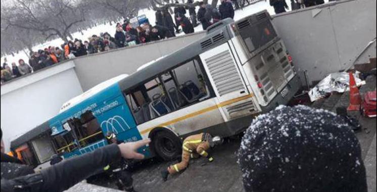 Russie: un bus fauche et tue au moins 5 personnes à Moscou