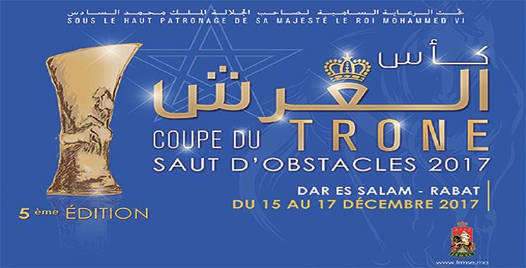 Saut d'obstacles : Rabat abrite la finale de la 5ème édition de la Coupe du Trône