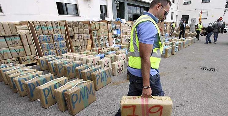 Espagne : 15 personnes arrêtées et saisie de près de 4 tonnes de haschich