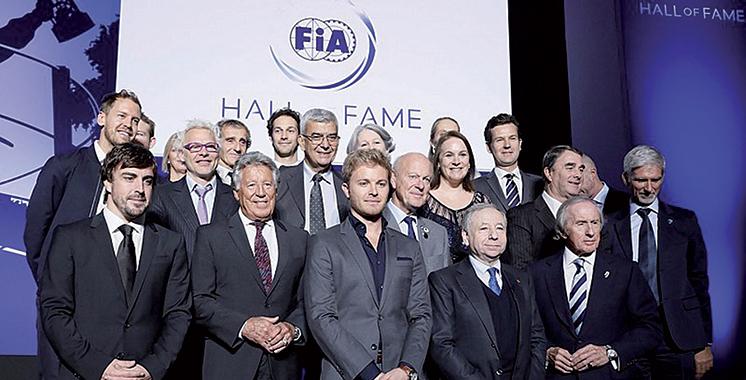 La FIA inaugure son Temple de la renommée en y intronisant tous les champions du monde de F1