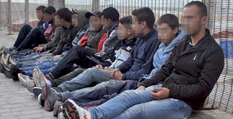 Tanger : 32 personnes arrêtées pour immigration clandestine