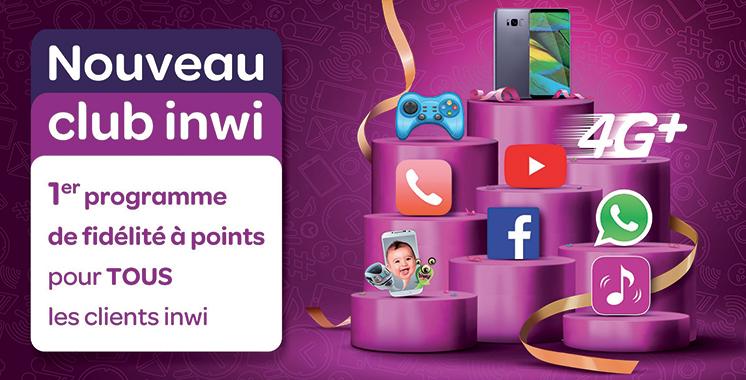 Inwi : Le programme de fidélité à points élargi à tous les clients