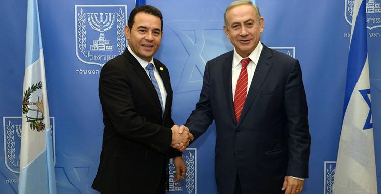 Le Guatemala annonce le transfert de son ambassade israélienne à Al Qods