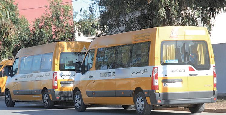 Skhirat-Témara : Acquisition de 12 minibus de transport scolaire au profit des communes territoriales