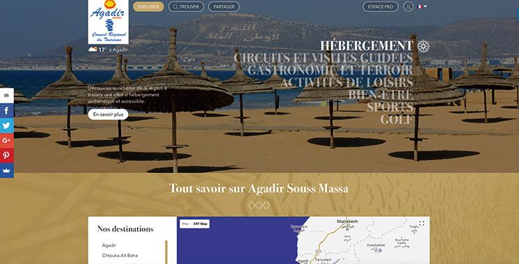 Une nouvelle version du portail web «visitagadir»
