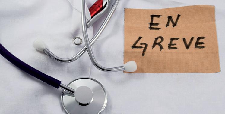 Grèves dans les hôpitaux publics  les 21 décembre et 16 janvier