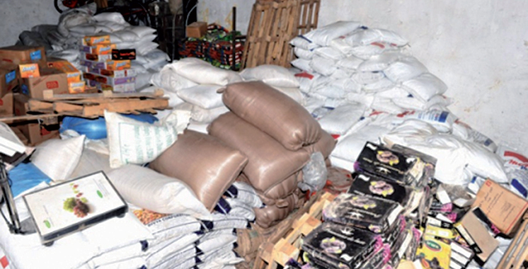 Saisie et destruction de 345 t de produits impropres à la consommation en novembre