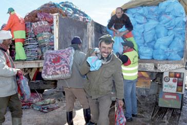 Opération Grand Froid : La Fondation Mohammed V distribuera plus de 15.000 kits au niveau de 4 provinces