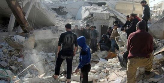 Syrie: 21 morts, dont huit enfants, dans des raids aériens à Idleb